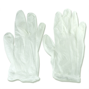 Disposable Medical PVC Powdered Or Powder Free Clear Vinyl Glove