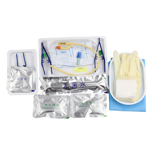 Disposable Sterile Single/double/triple Way Foley Urinary Catheter Catheterization Kit