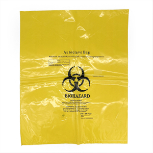 50L Autoclavable Biohazard Bag Hospital Medical Waste Bag