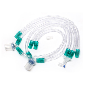 Disposable Corrugated Anesthesia Breathing Circuit with Water Trap for Ventilator
